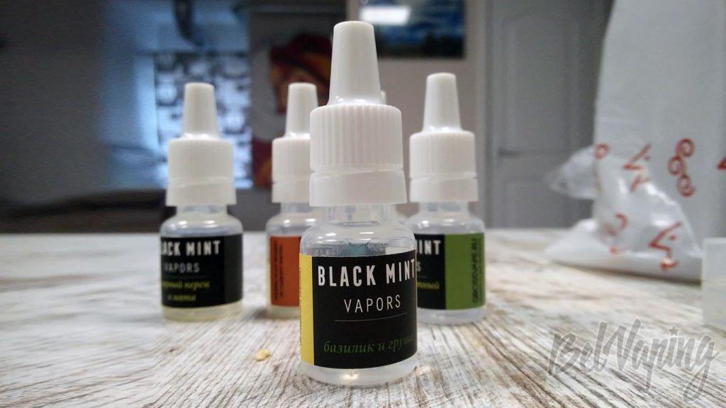 Жидкость Black Mint Vapors - базилик и груша