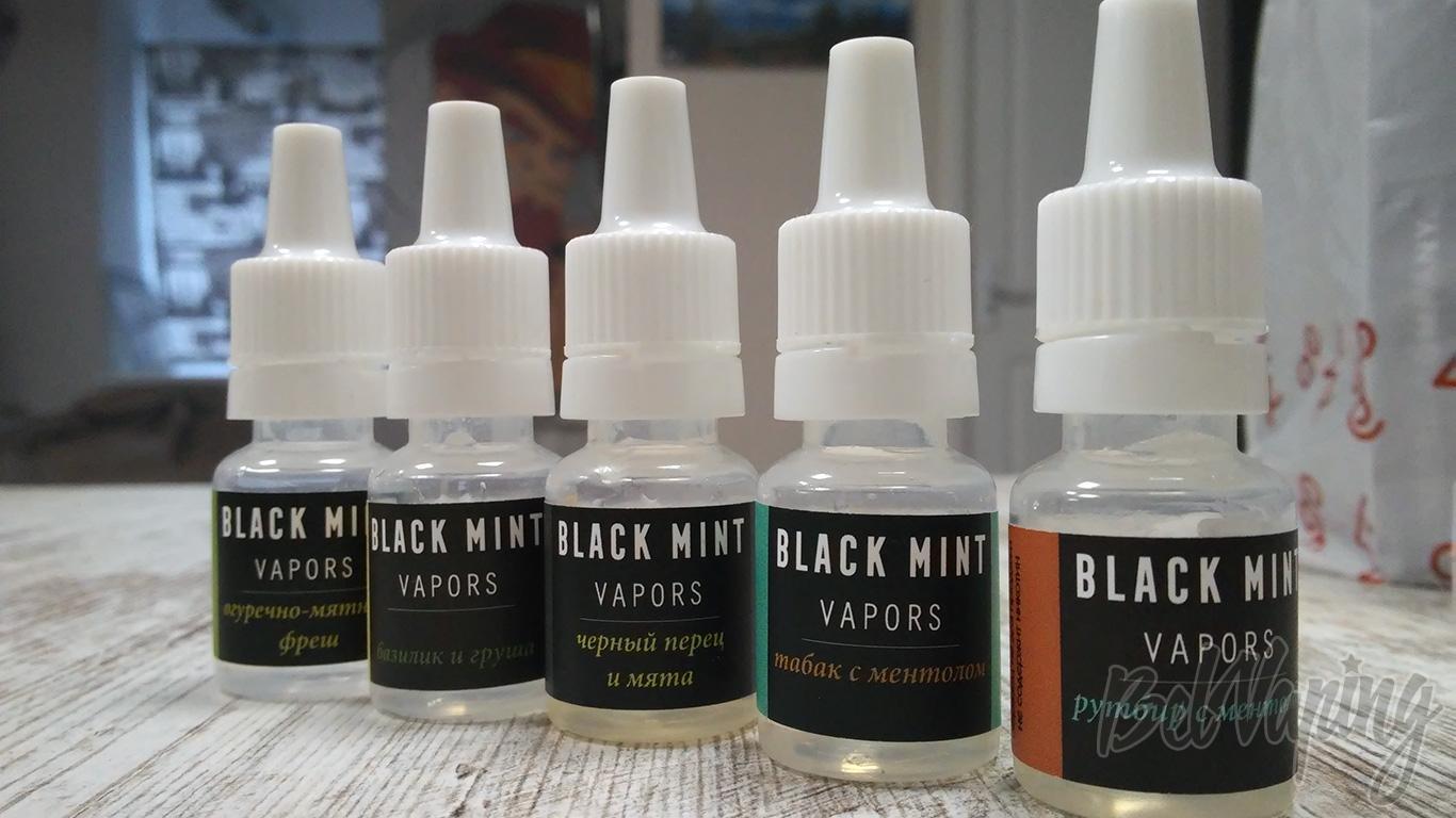 Жидкость Black Mint Vapors