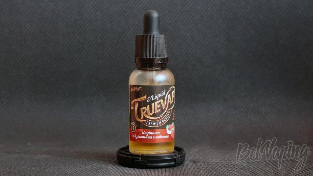 Жидкость TrueVape - вкус Клубника со взбитыми сливками