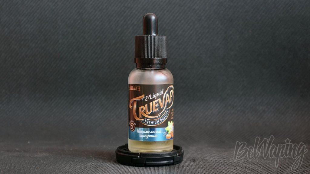 Жидкость TrueVape - вкус Карамельный капучино