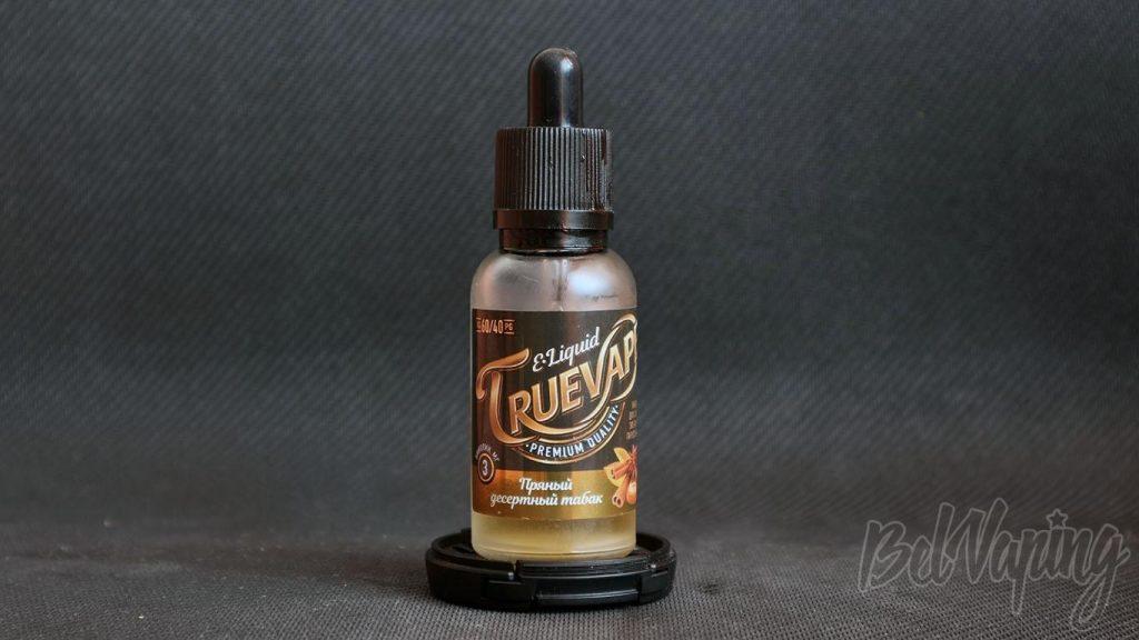 Жидкость TrueVape - вкус Пряный десертный табак