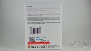 Обзор компактного бокс мода EHPRO Sthorm - Упаковка