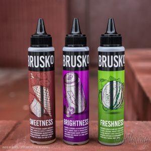 Новые вкусы BRUSKO: Sweetness Brightness Freshness