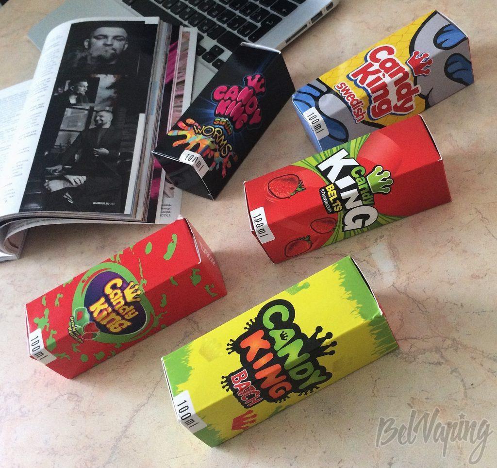 Жидкости для электронных сигарет Candy King