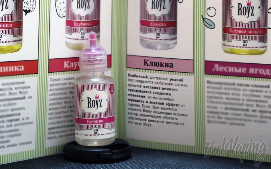 Обзор жидкости ROYZ - Клюква