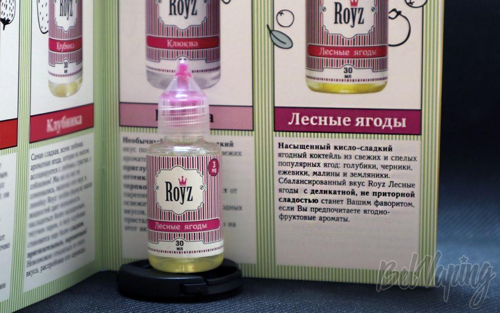 Обзор жидкости ROYZ - Лесные ягоды