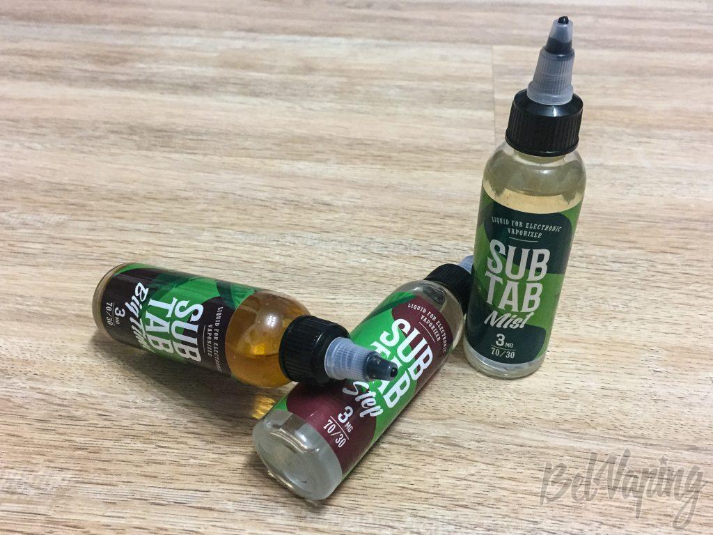 Жидкости SUB TAB