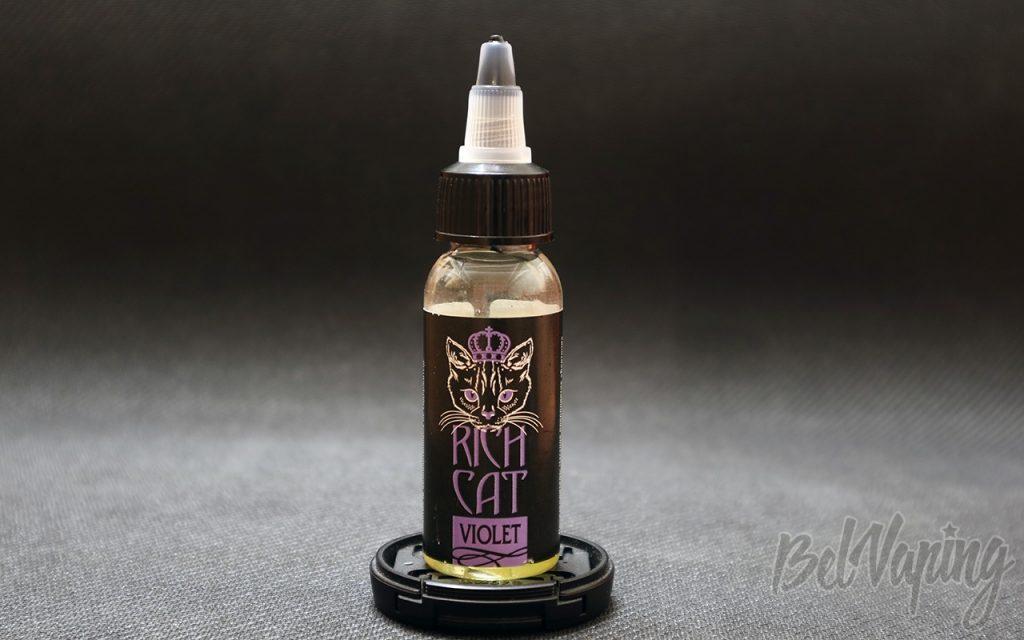 Обзор жидкости RICH CAT - VIOLET