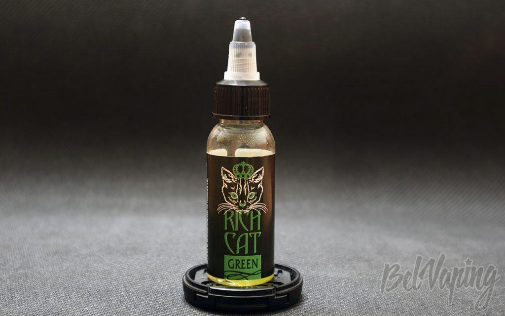 Обзор жидкости RICH CAT - GREEN