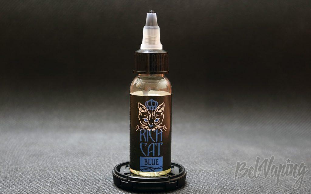 Обзор жидкости RICH CAT - BLUE