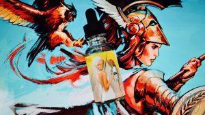Обзор линейки жидкостей Gods of Vape - Athena / Афина