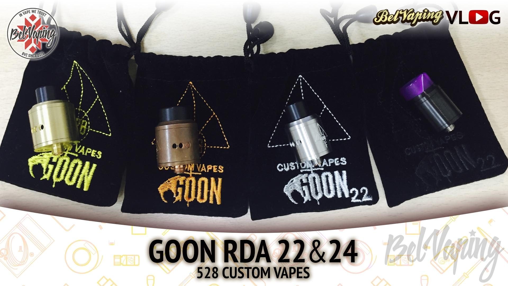Обзор и сравнение GOON 24 и GOON 22 от компании 528 CUSTOM VAPES