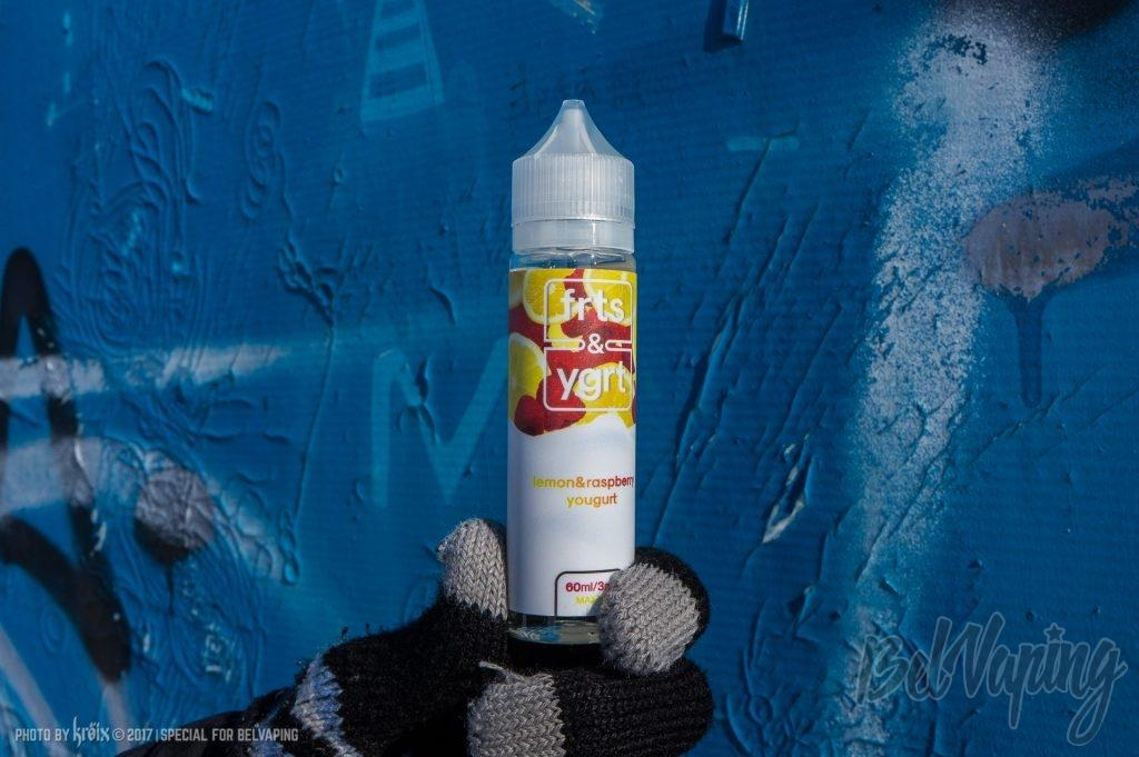 Жидкость Electro Jam frts&ygrt — Lemon&Raspberry Yogurt