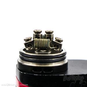 Установка спиралей в Lush Plus RDA