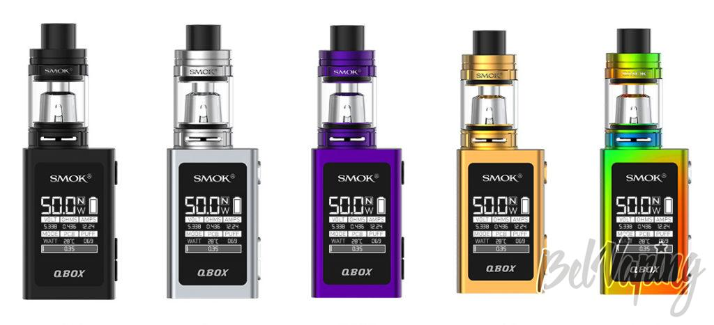 Цвета Smok Q-BOX Kit