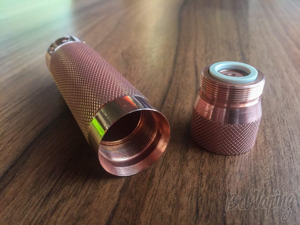 Кнопка Comp Lyfe HK Diamond Knurl 25 mm Copper