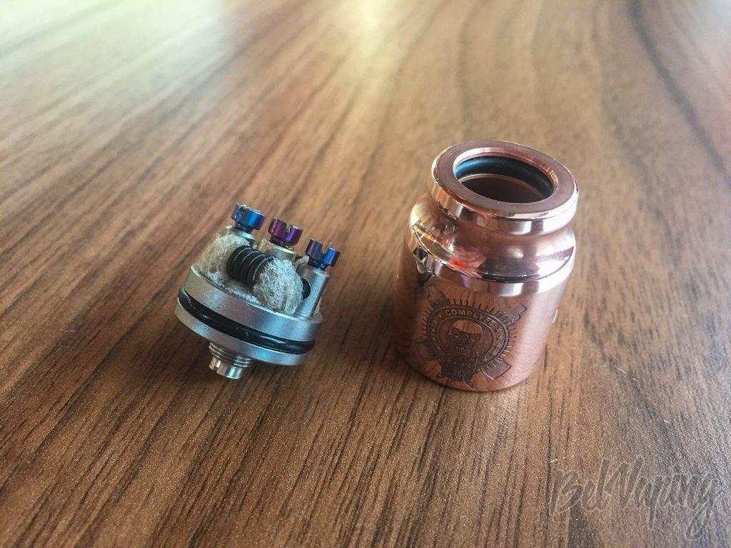 Battle Deck 3-post Central Silver + Battle Cap S.M.O. Limited Edition Copper