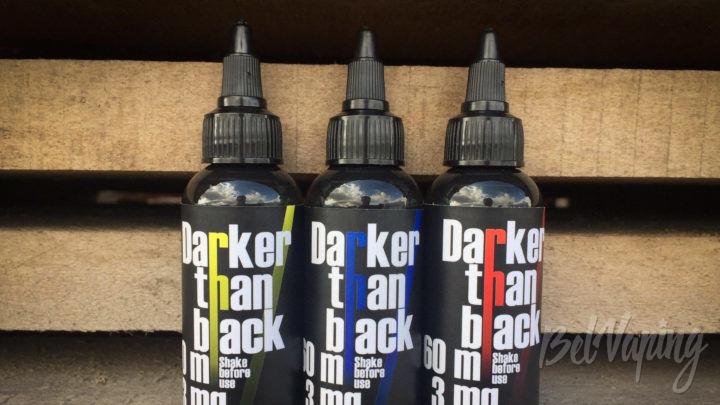 Обзор жидкостей для вейпинга Darker than Black и Gentleman