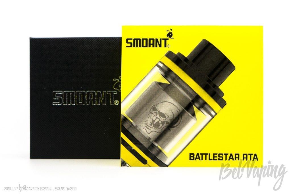 Упаковка Smoant Battlestar RTA
