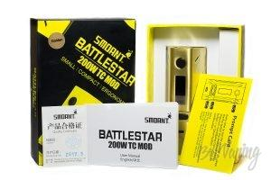 Комплектация Smoant Battlestar 200W