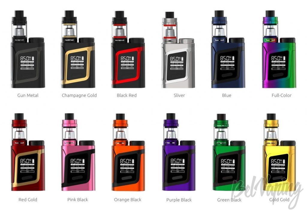Варианты расцветок Smok Alien AL85 Kit