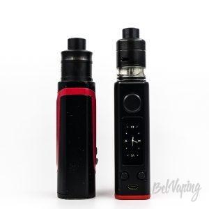 Сравнение Smok Alien 220W (слева) и Joyetech eVic Primo 200W