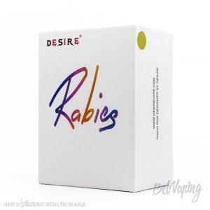 Упаковка Rabies RDA от Desire Vape