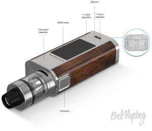 Конструктив Joyetech CUBOID TAP with ProCore Aries