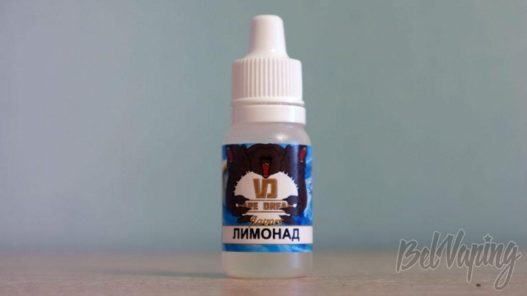 Обзор ароматизаторов VapeDream - Лимонад