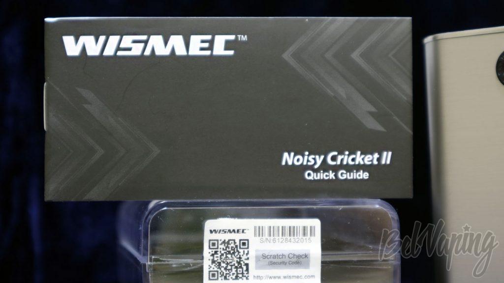 Обзор модов Noisy Cricket I и II (22мм) - обложка инструкции второй версии