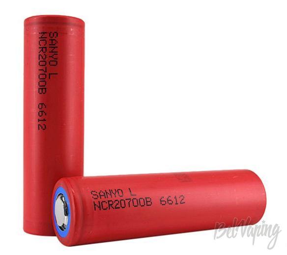 Аккумуляторы Sanyo NCR20700B