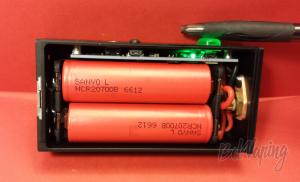 Аккумуляторы Sanyo NCR20700B в боксмоде