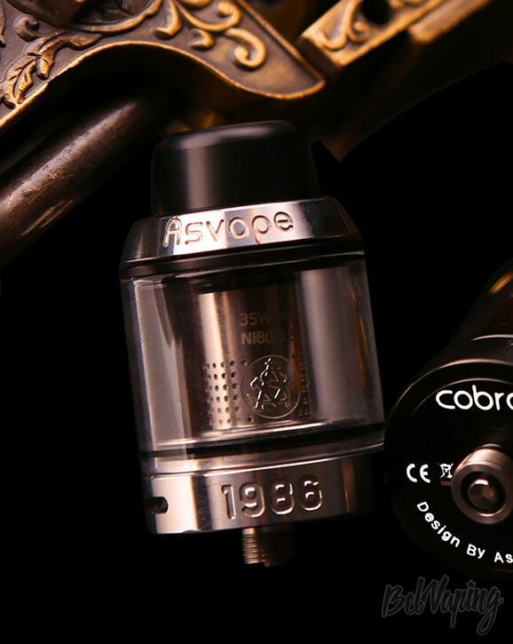 Внешний вид Asvape Cobra Sub Ohm Tank