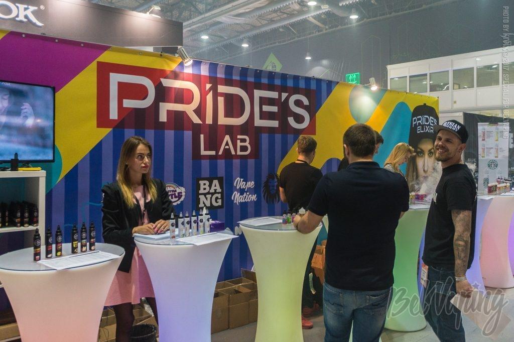 Стенд компании PRIDE'S LAB