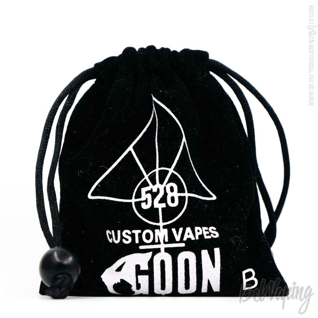 Упаковка черного Goon 1.5 RDA от 528 Custom Vapes