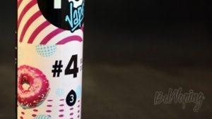 Обзор жидкостей YO! Vape #4 BLUEBERRY DONUT