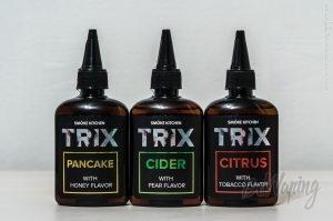Лицевая сторона этикетки жидкости TRIX