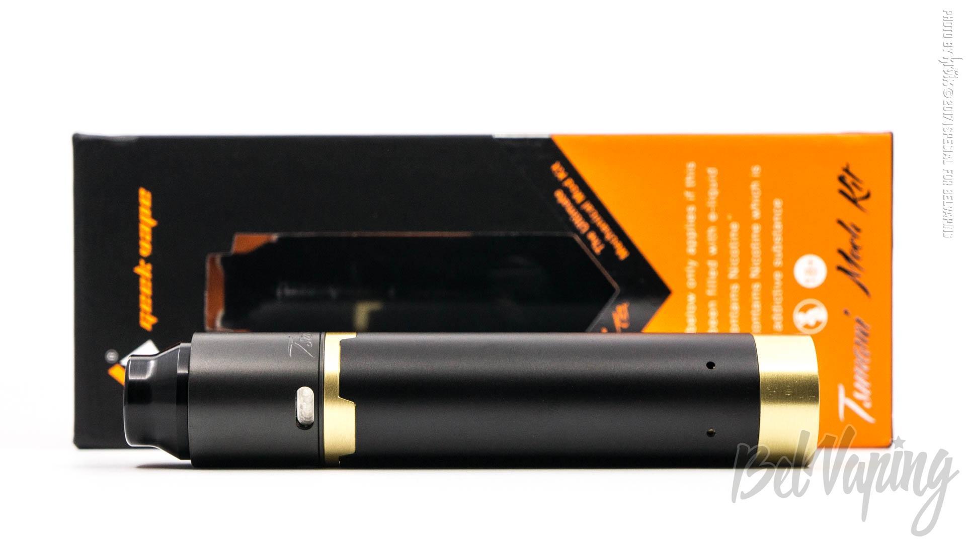 Обзор набора Tsunami Pro RDA и Black Ring Plus от Geekvape