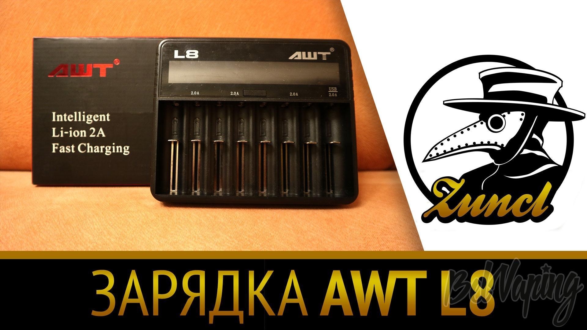 Зарядное устройство AWT-L8-2A