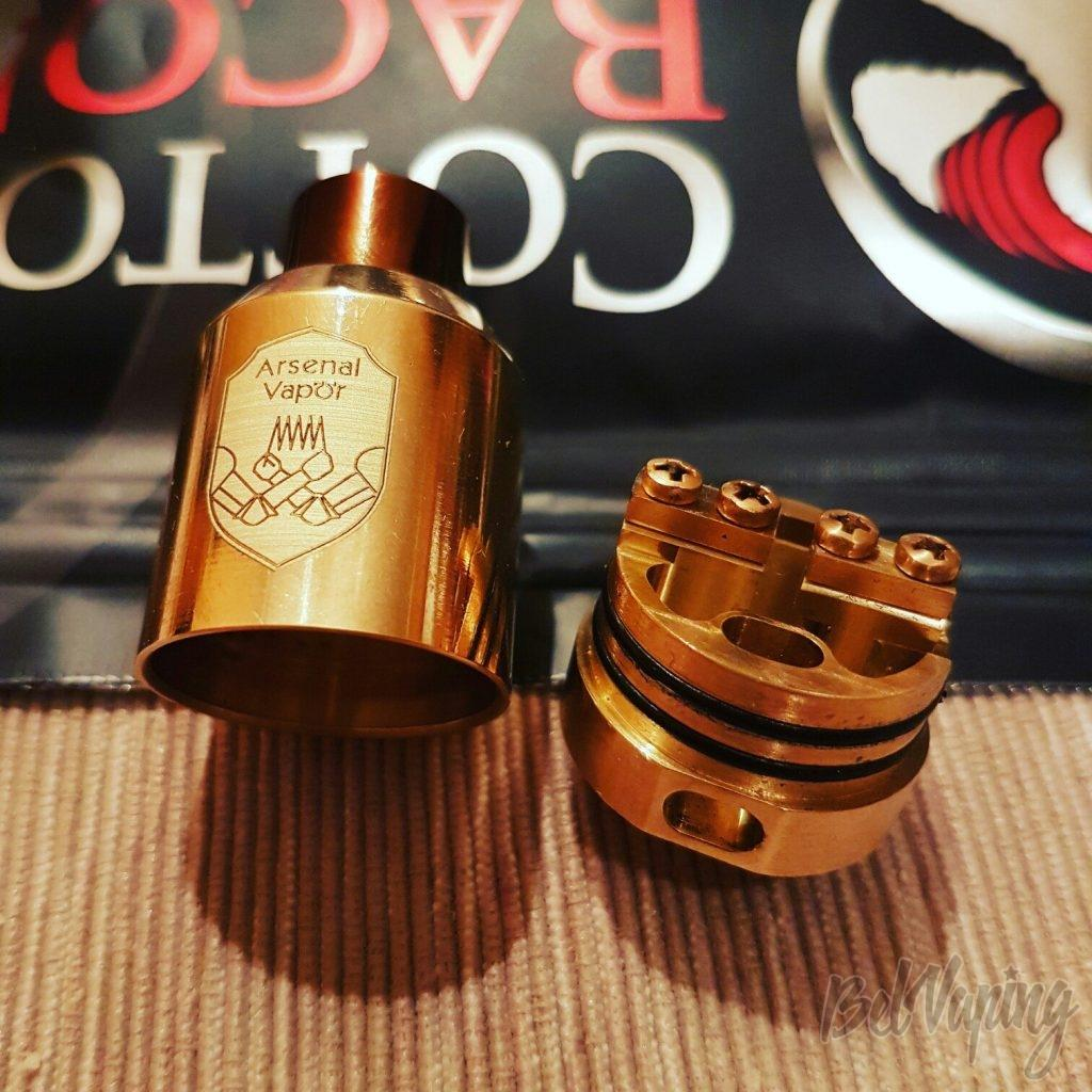 База и купол Arsenal Vapor RDA