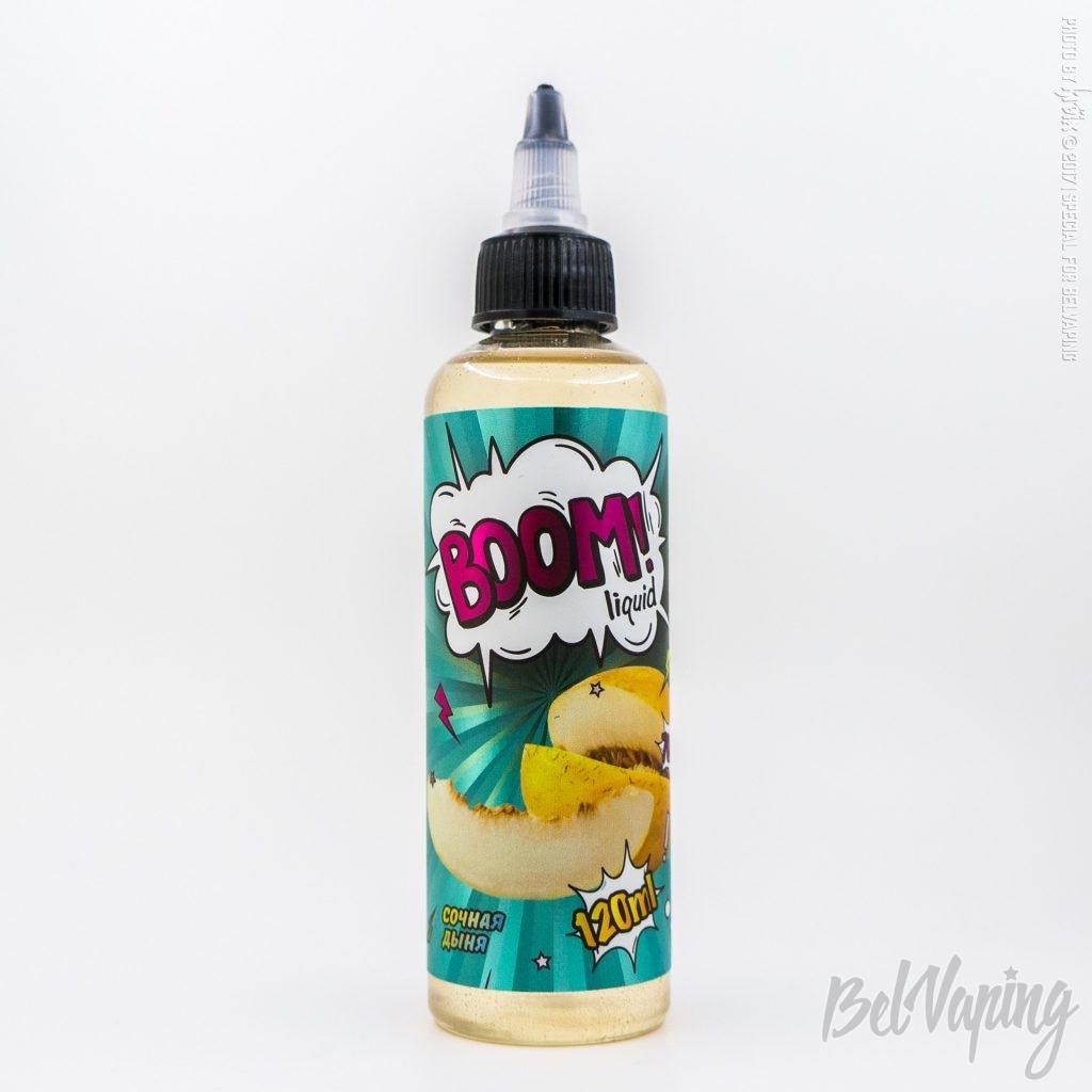 Жидкость BOOM liquid- Сочная дыня