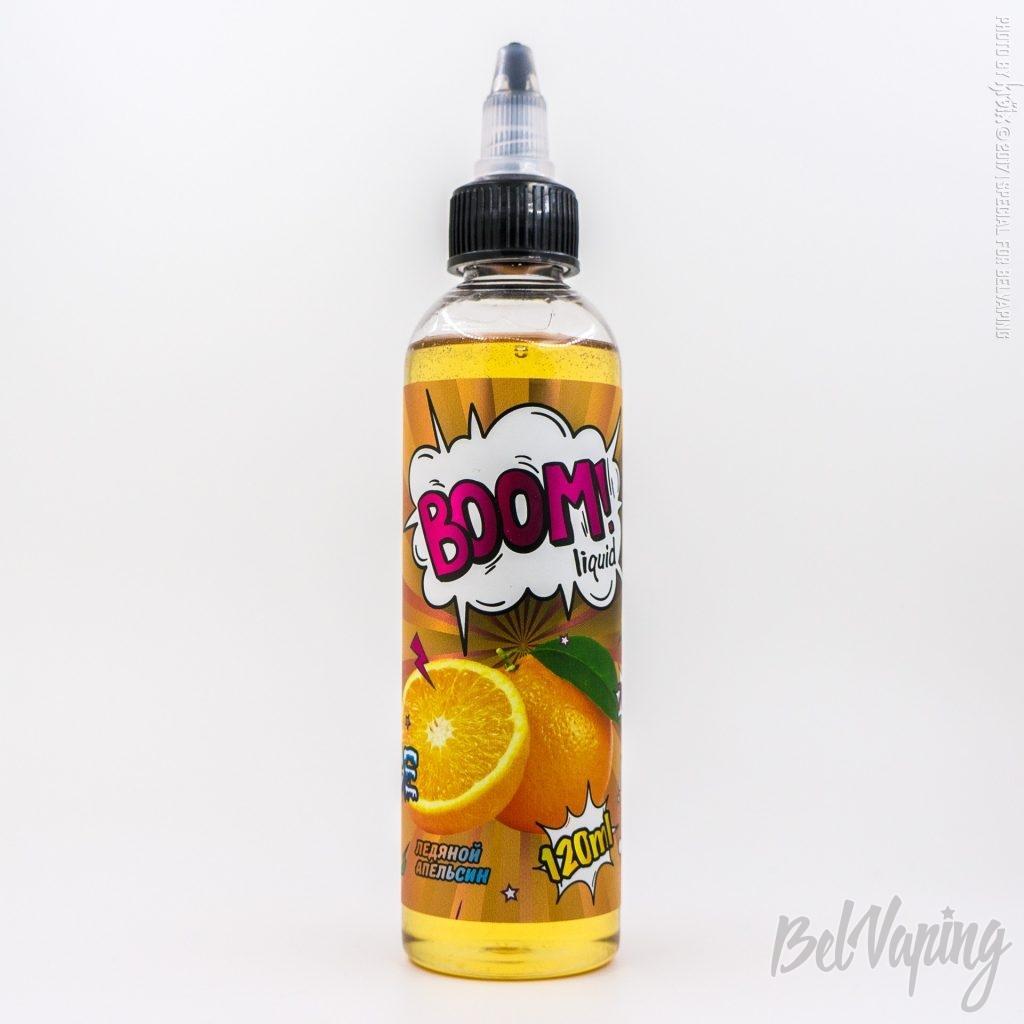 Жидкость BOOM liquid- Ледяной апельсин (ICE)