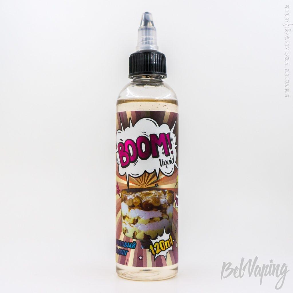 Жидкость BOOM liquid - Ореховый пудинг
