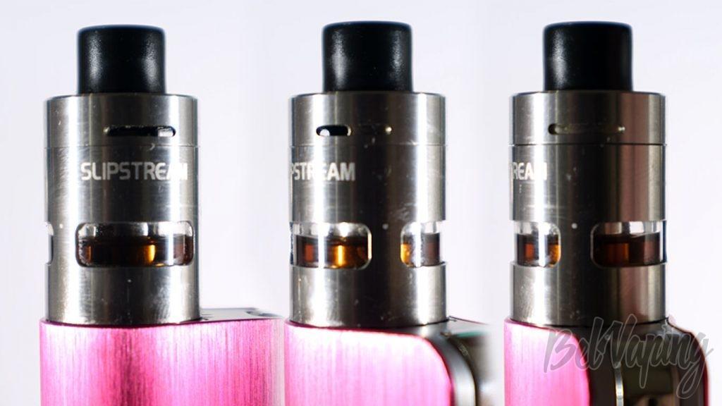 Innokin COOLFIRE MINI & Slipstream - регулировка обдува