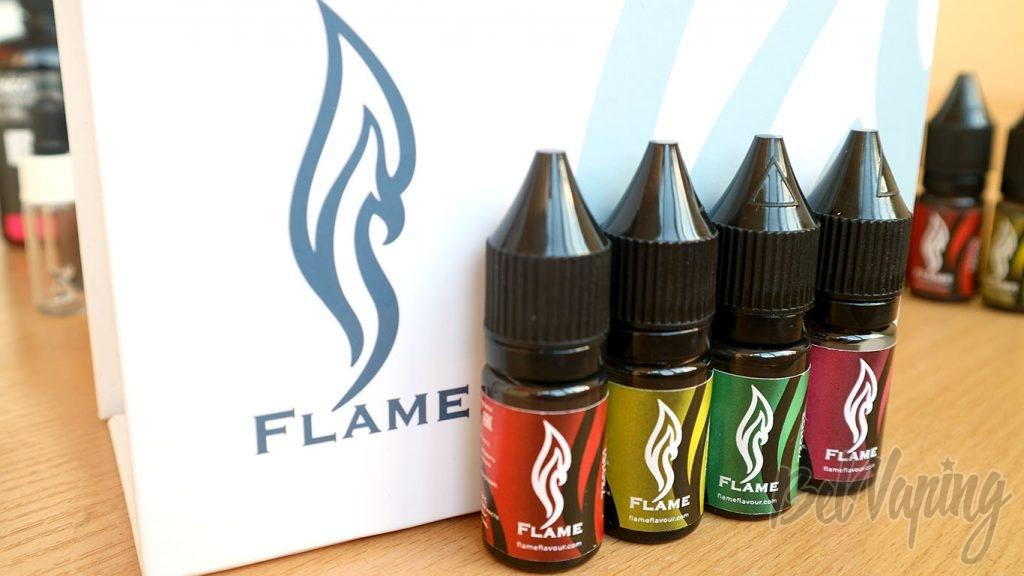 Обзор ароматизаторов Flame Flavour. Цвета этикеток