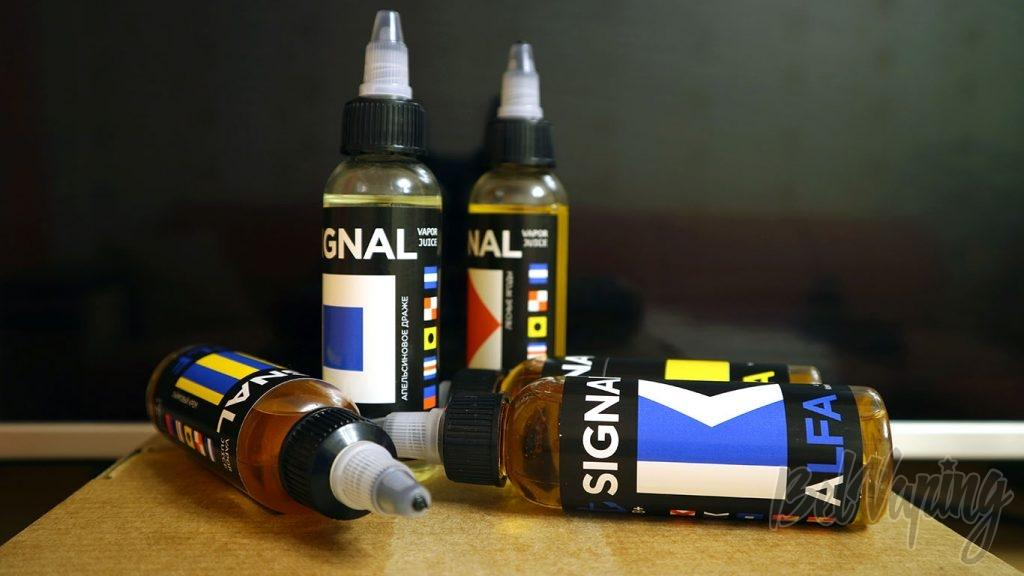Обзор жидкостей SIGNAL - бутылочки