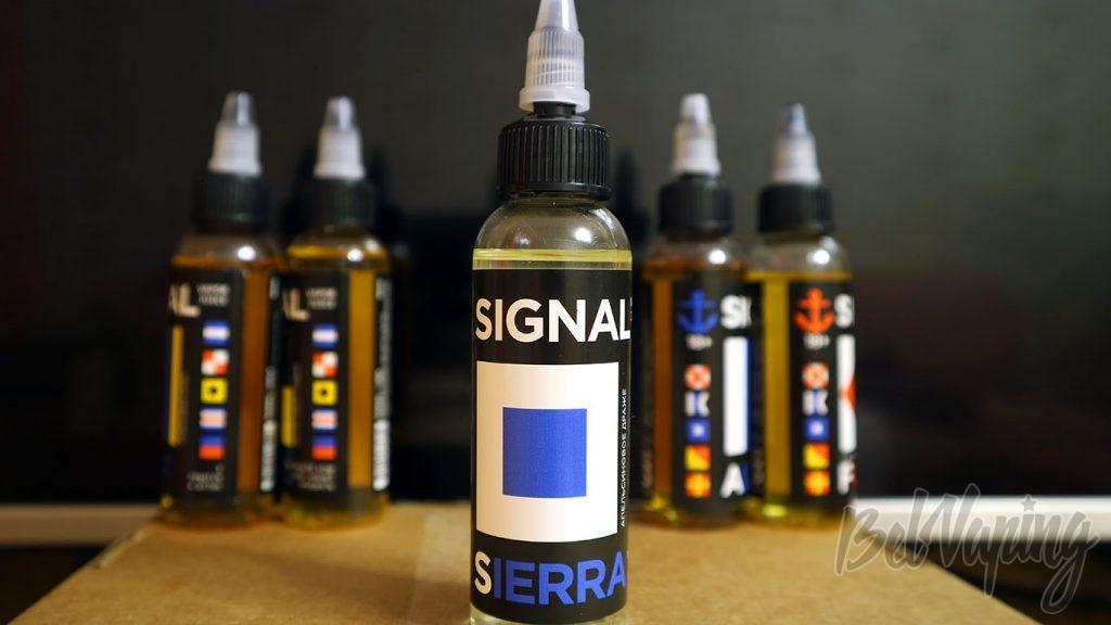 Обзор жидкостей SIGNAL - Вкус SIERRA