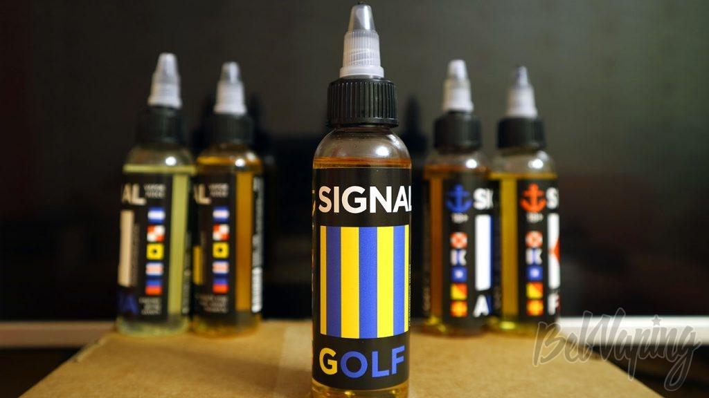 Обзор жидкостей SIGNAL - Вкус GOLF