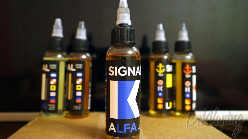 Обзор жидкостей SIGNAL - Вкус ALFA