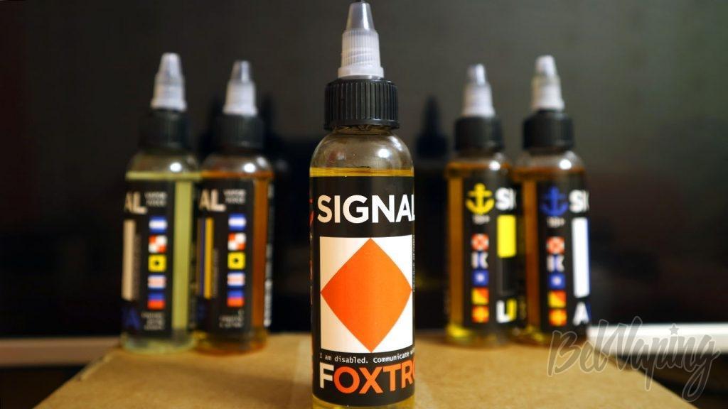 Обзор жидкостей SIGNAL - Вкус FOXTROT